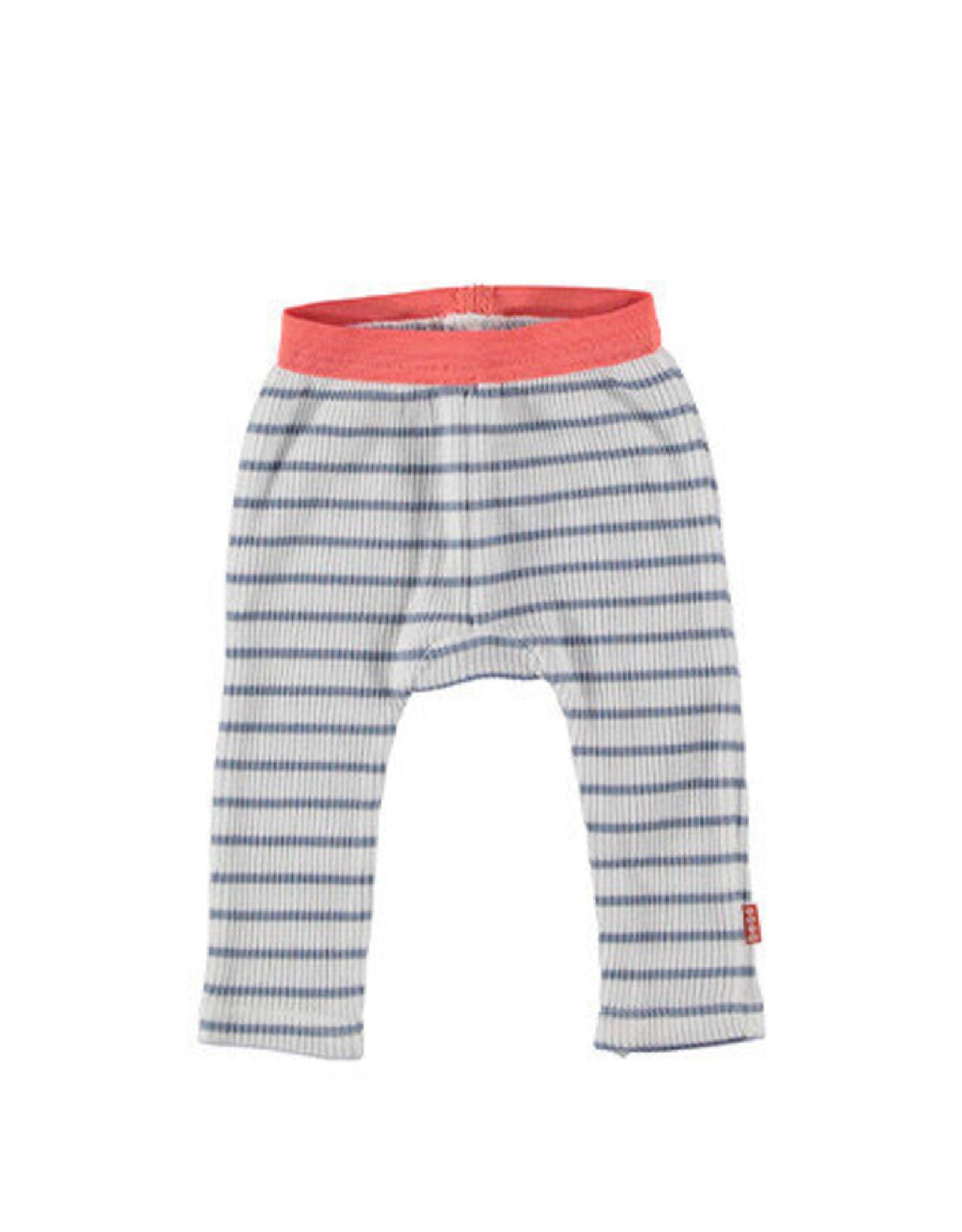 B.E.S.S. Legging Striped, White