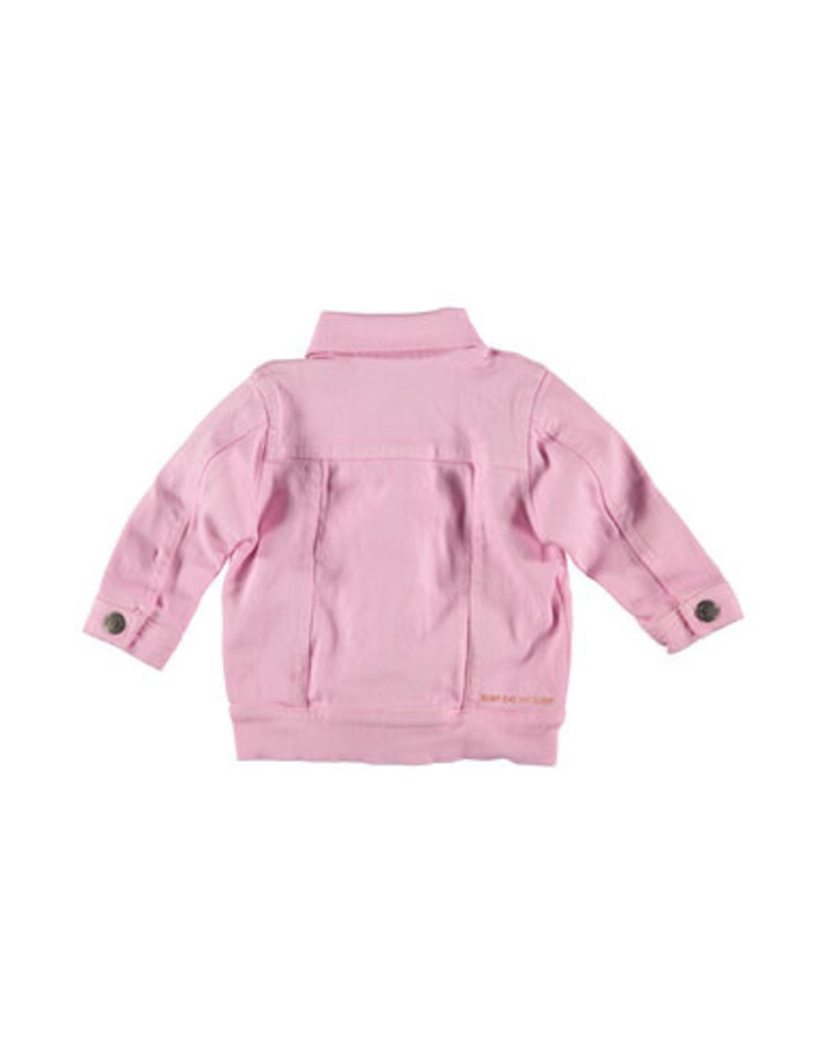 B.E.S.S. Jeans Jacket Ruffles, Pink