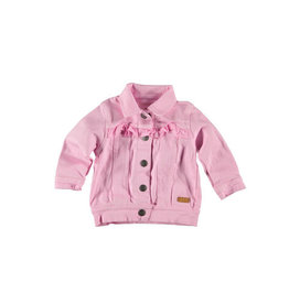 B.E.S.S. Jeans Jacket Ruffles, Pink