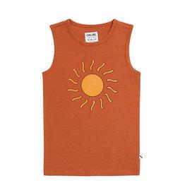 CarlijnQ Sunshine - tanktop with print