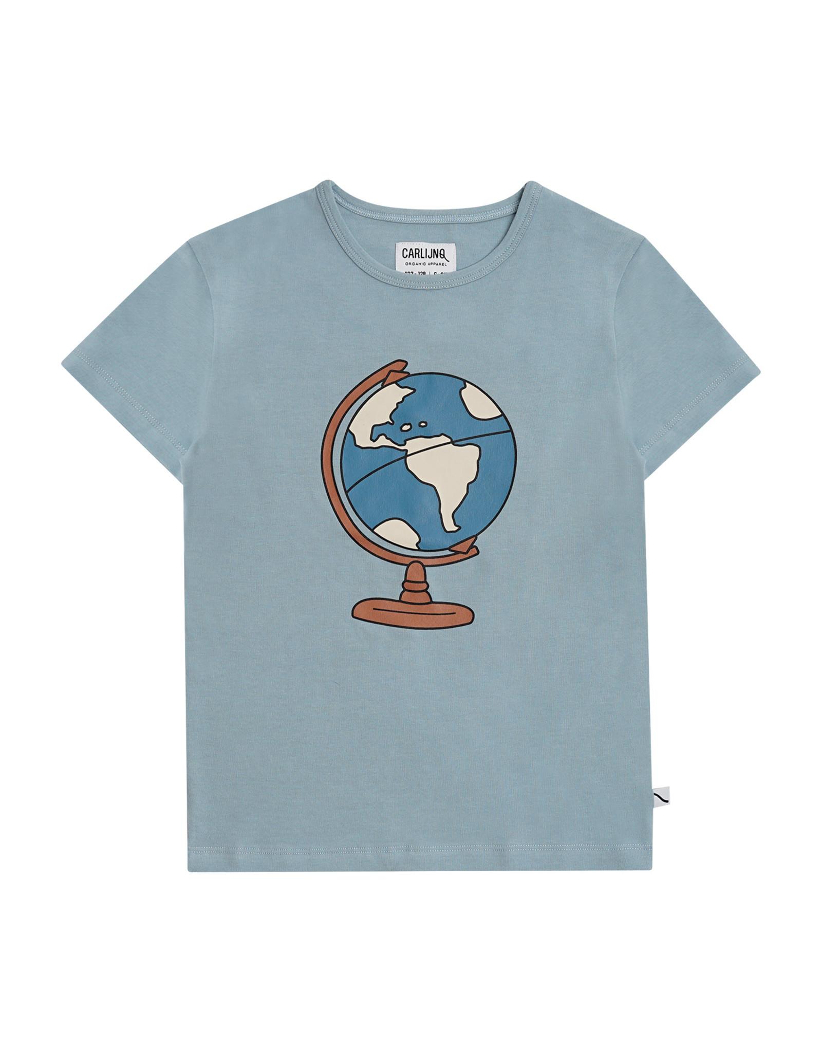 CarlijnQ Globe - t-shirt with print