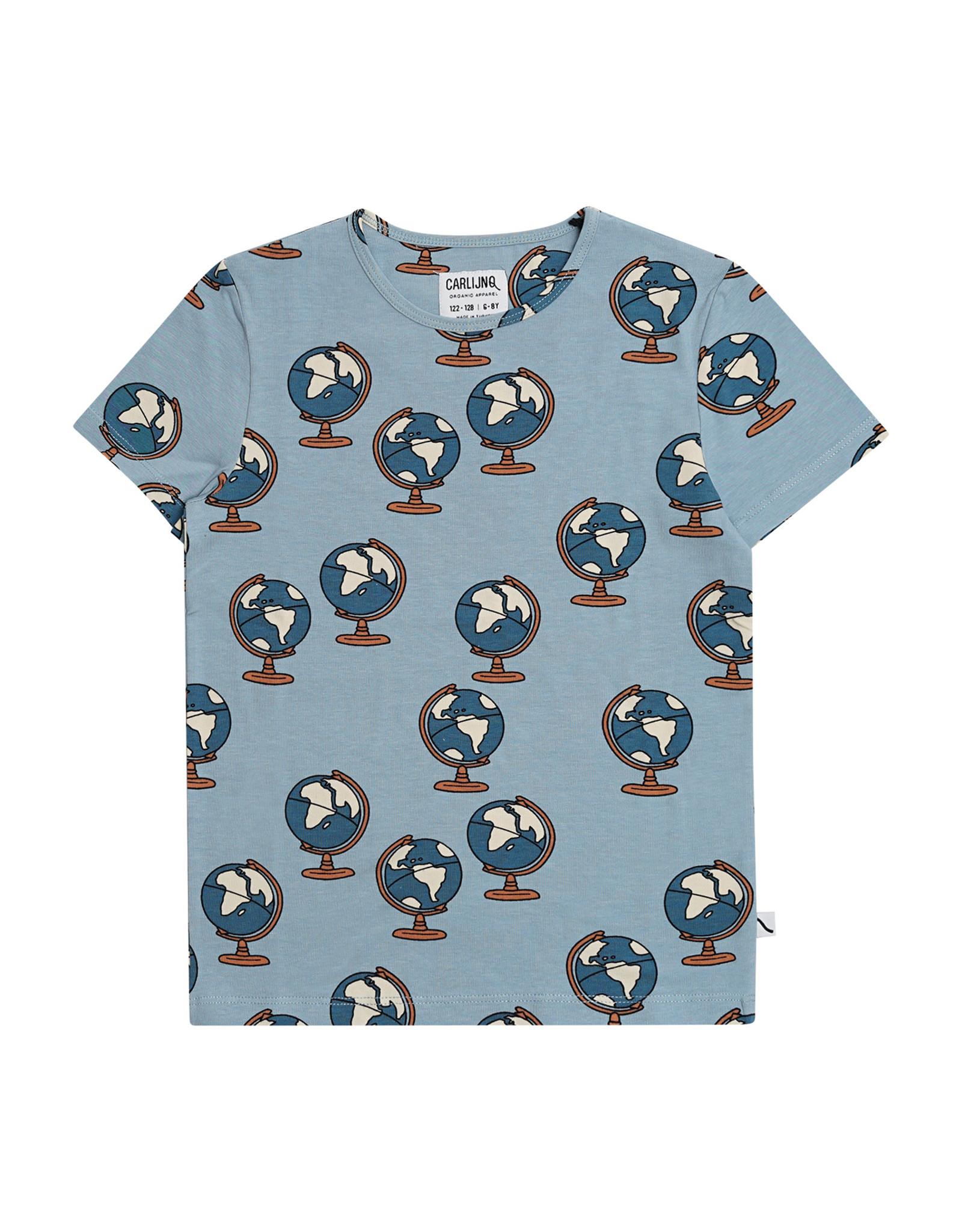 CarlijnQ Globe - t-shirt