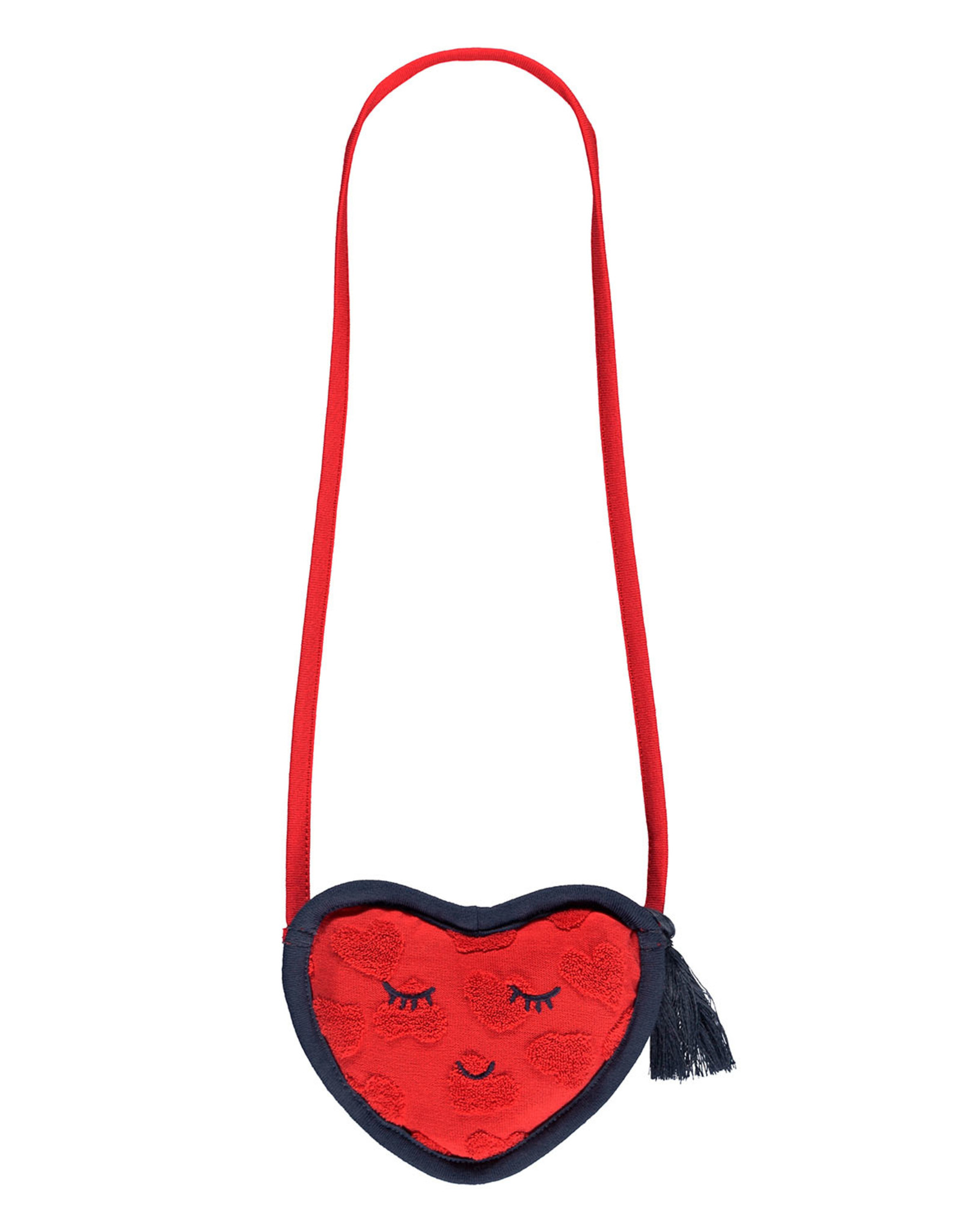LOOXS Little Little wallet with strap 5x, RED APPLE