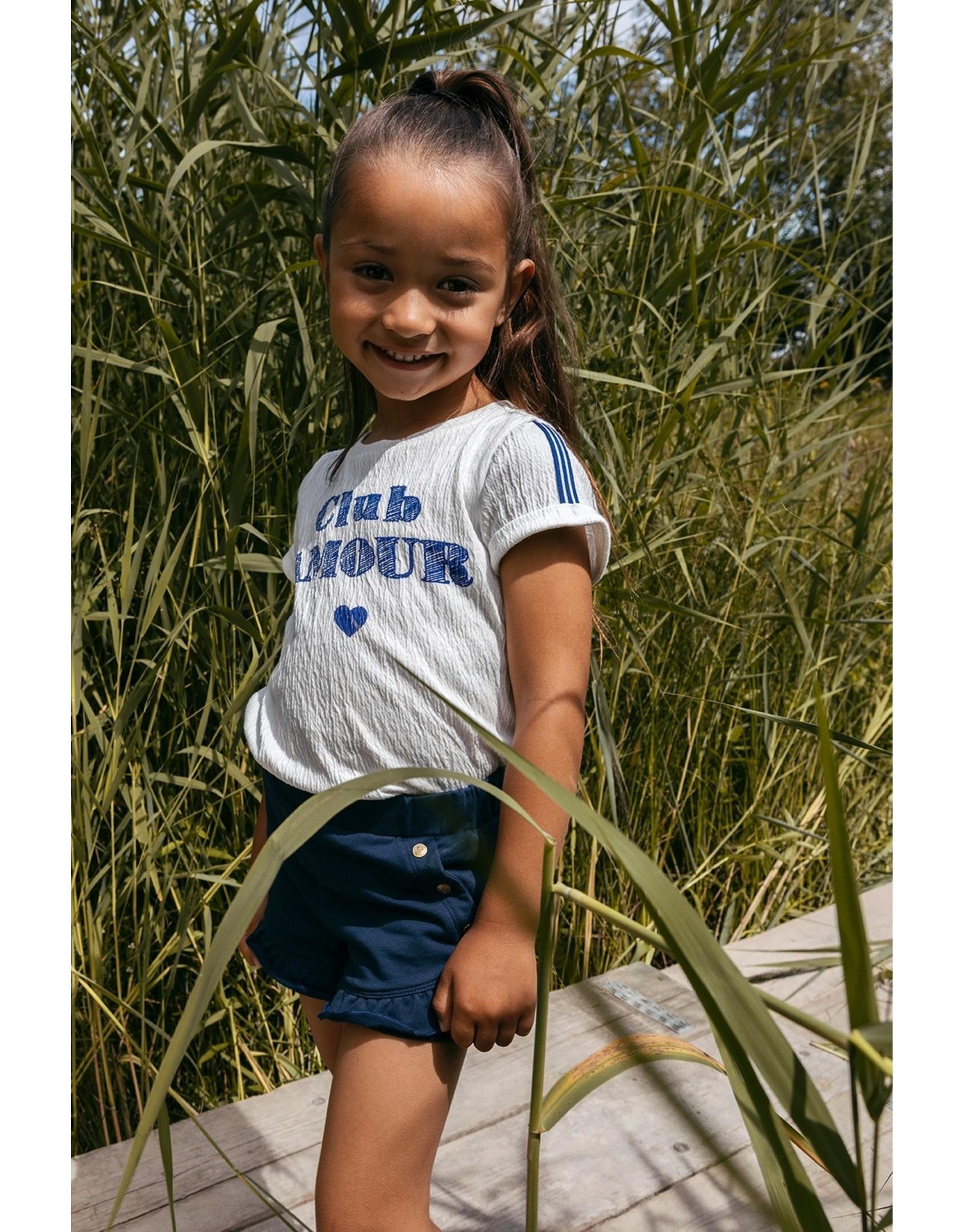 LOOXS Little Little t-shirt s. sleeve, ivory