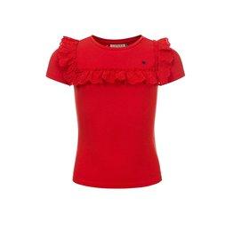 LOOXS Little Little t-shirt s. sleeve, RED APPLE
