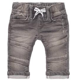 Noppies B Regular fit pants Tipton Denim, Light Grey Denim