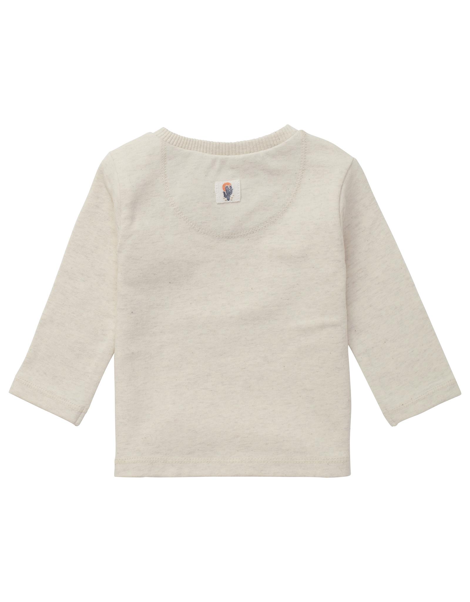 Noppies B T-Shirt LS Torpoint, RAS1202 Oatmeal