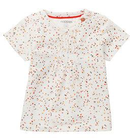 Noppies G T-Shirt SS Mauer AOP, Snow White