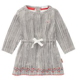 Noppies G Dress LS Mazzola STR, Snow White
