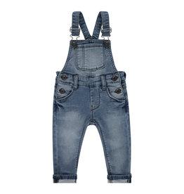 Babyface boys jogg jeans dungaree, medium blue denim, BBE21107231