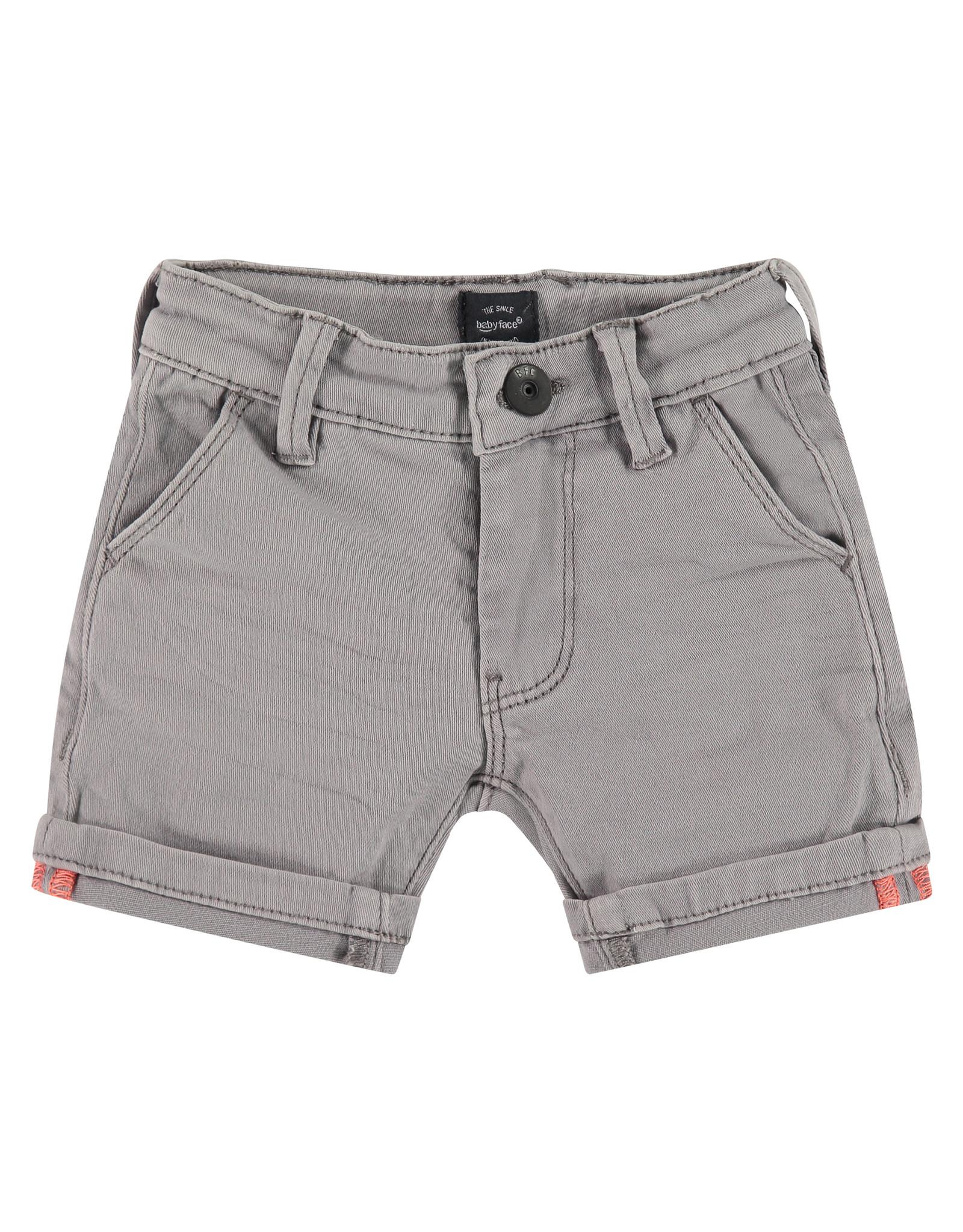 Babyface boys short, light grey, BBE21107235