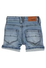 Babyface boys jogg jeansshort, medium blue denim, BBE21107239