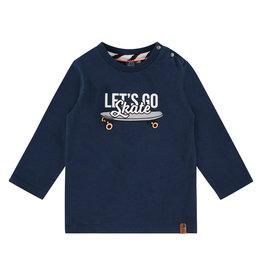 Babyface boys t-shirt long sleeve, navy, BBE21107625