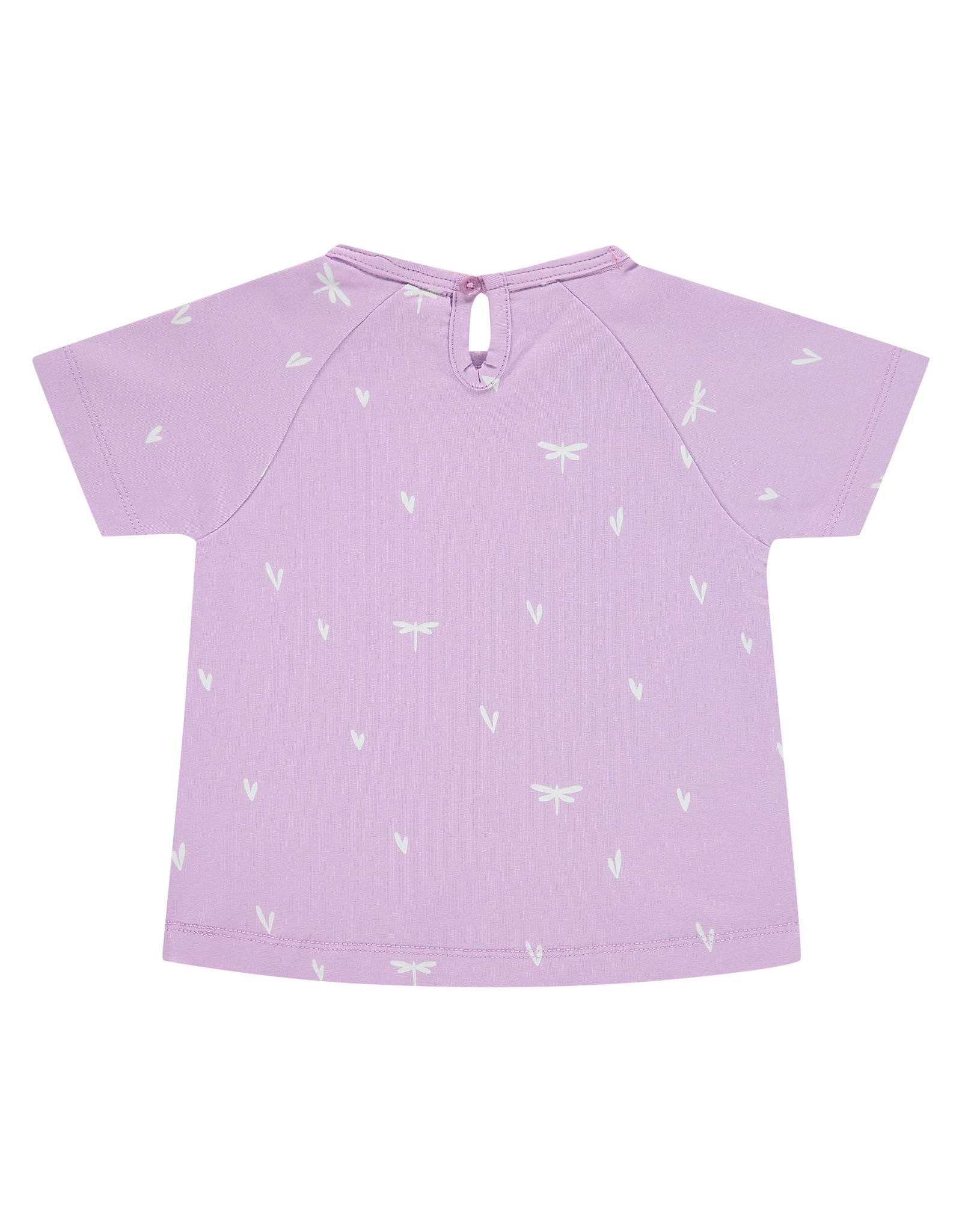 Babyface girls t-shirt short sleeve, lilac, BBE21108632