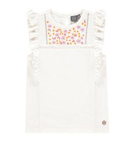 Babyface girls t-shirt short sleeve, creme, BBE21108633