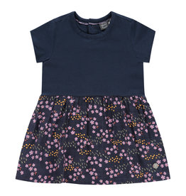 Babyface girls dress, marine, BBE21108728