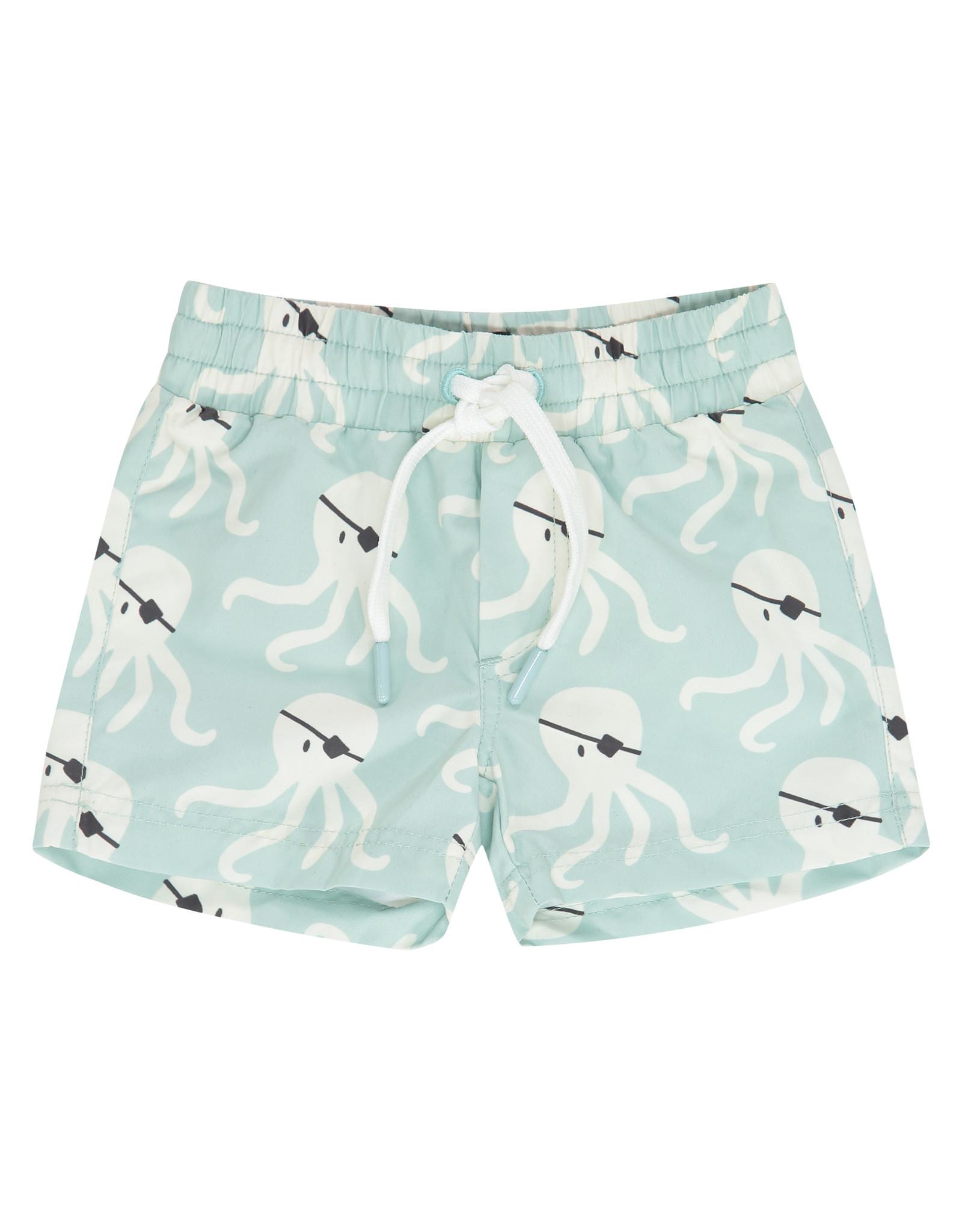 Babyface boys swim short, grey mint, BBE21207251
