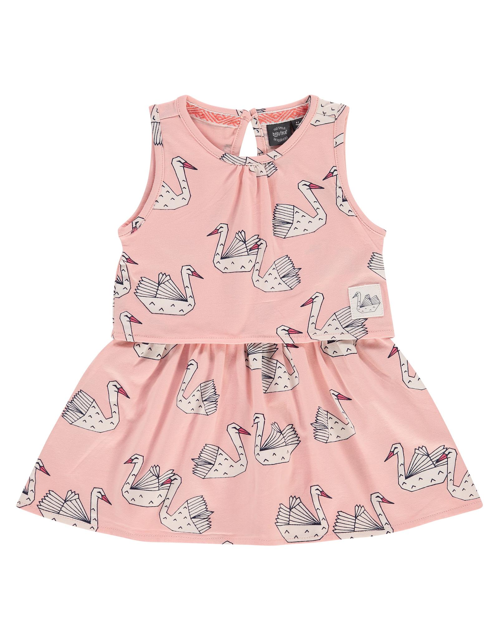 Babyface girls dress, blush pink, BBE21208744