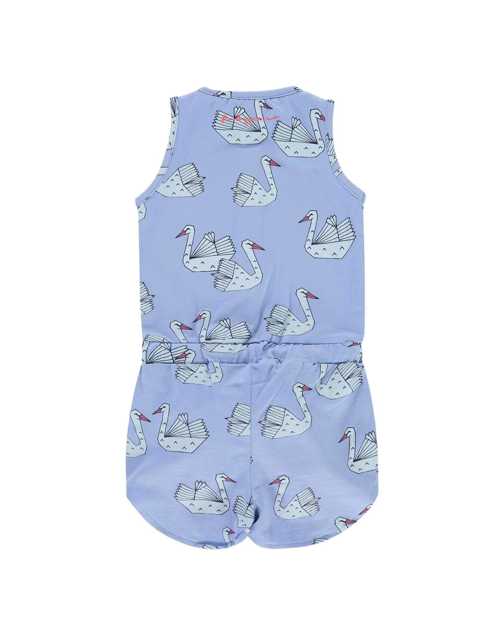 Babyface girls jumpsuit, lavender blue, BBE21208746