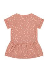 Babyface baby girls dress, rosewood, NWB21228742