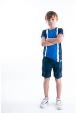 B-Nosy Boys aop camo sweat shorts, Space blue camo