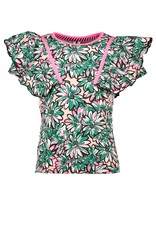 B-Nosy Girls sunny ao shirt with big ruffles, Sunny ao