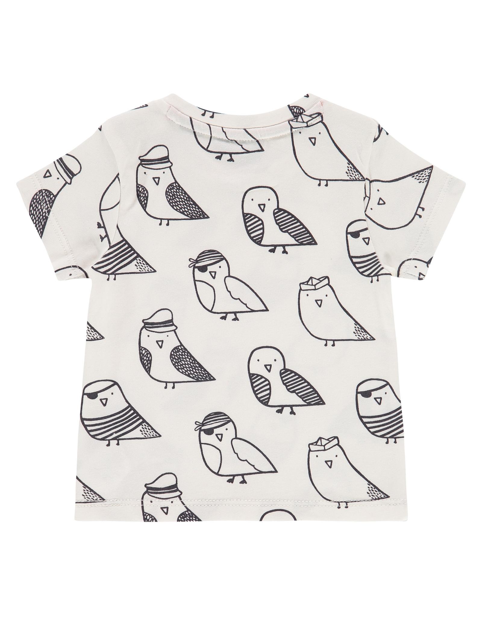 Babyface baby boys t-shirt short sleeve, off white, NWB21227653