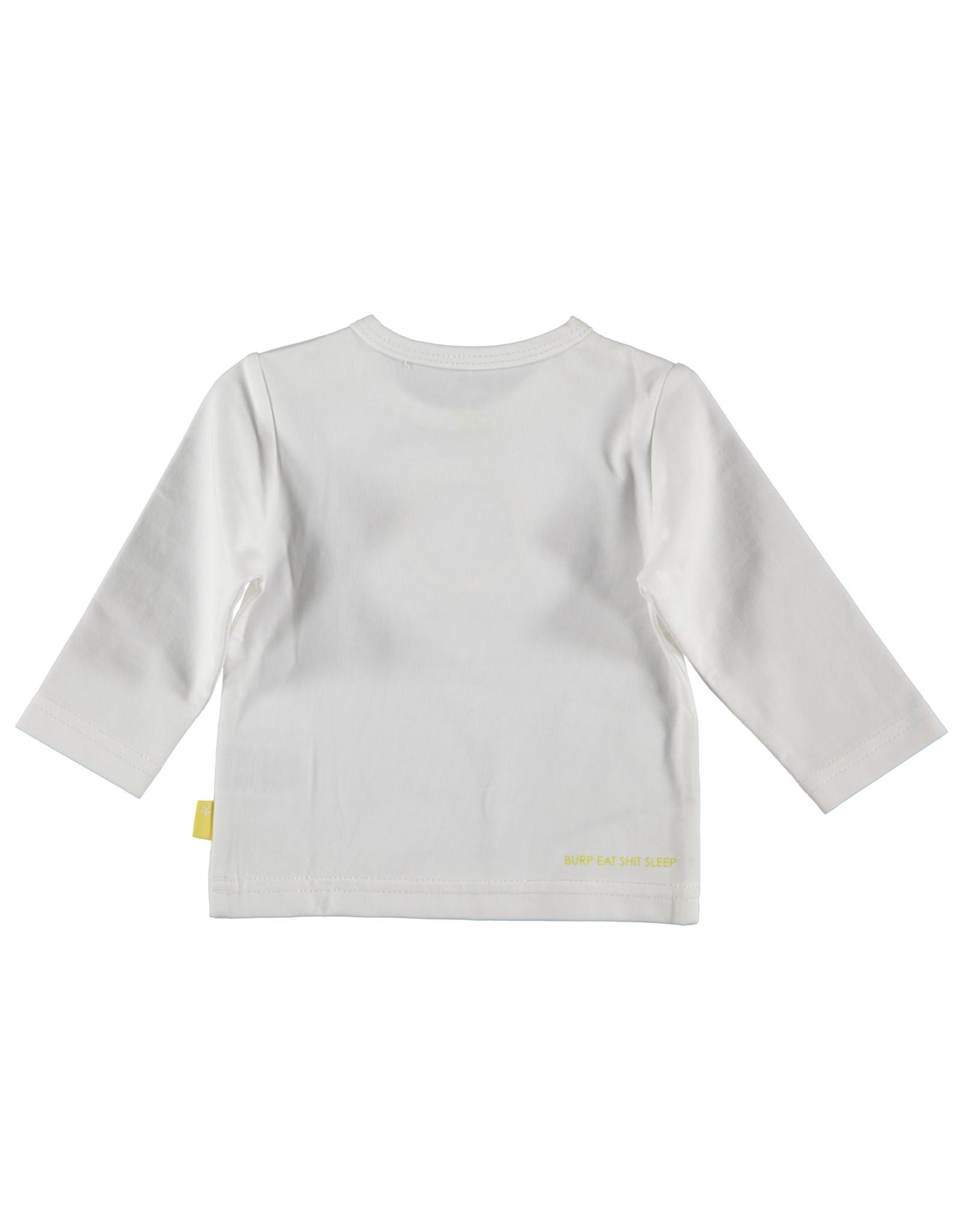 B.E.S.S. Shirt l.sl. Lion, White