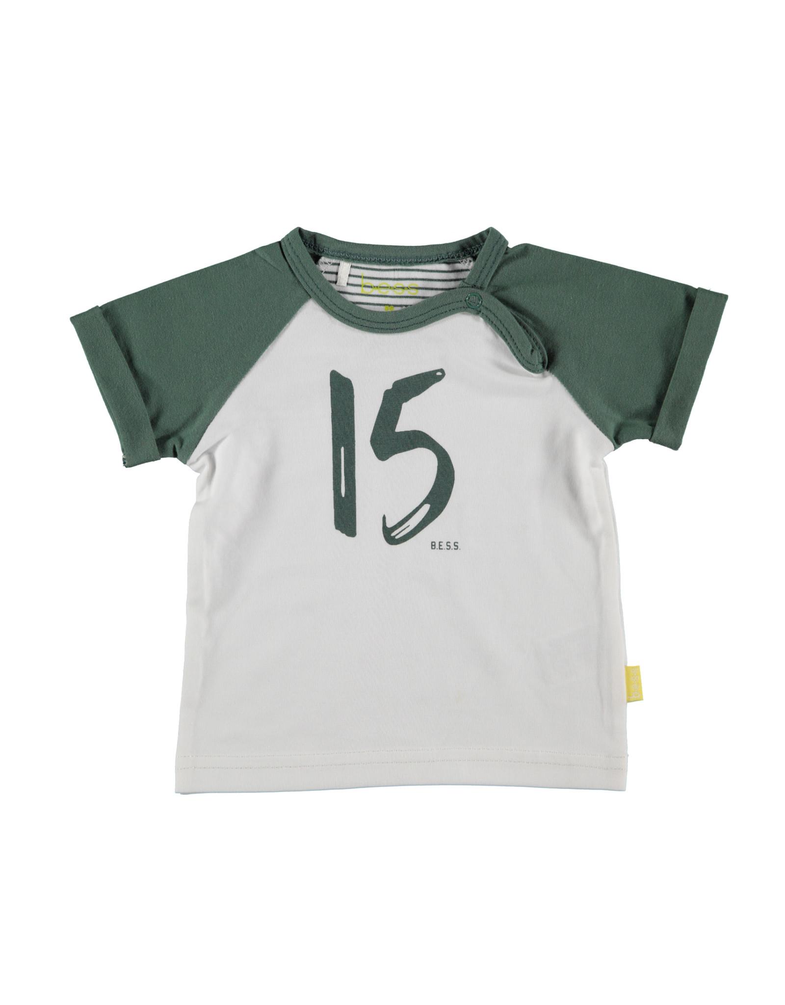 B.E.S.S. Shirt sh.sl. 15, White
