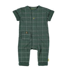 B.E.S.S. Suit sh.sl. Check, Green