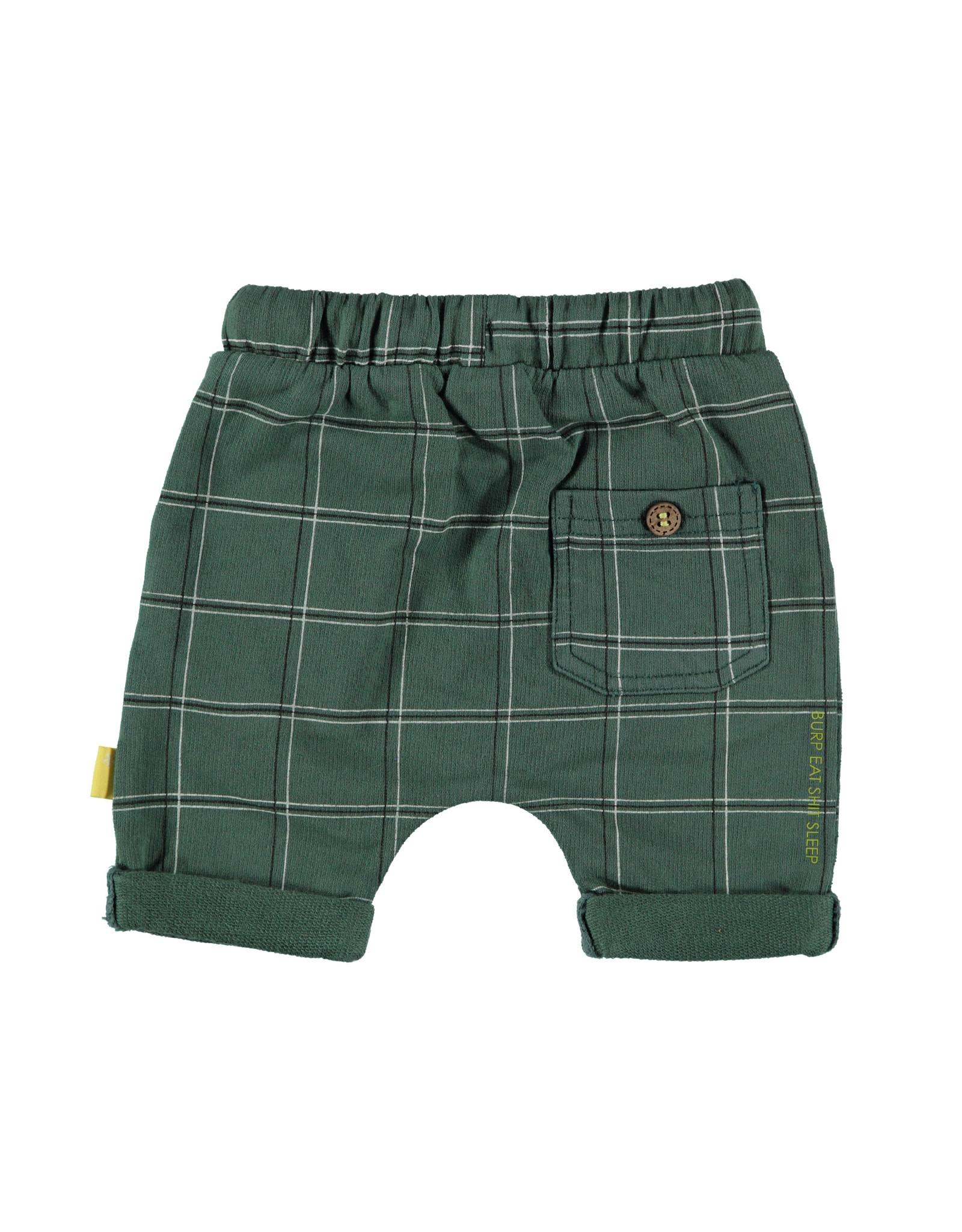 B.E.S.S. Shorts Check, Green
