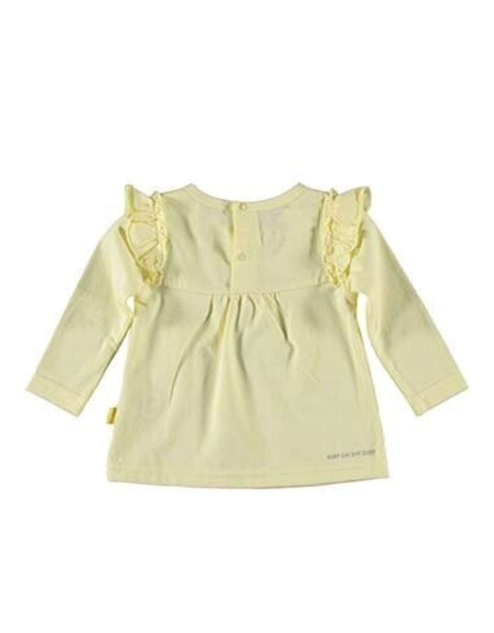 B.E.S.S. Shirt l.sl. Ruffles, Yellow