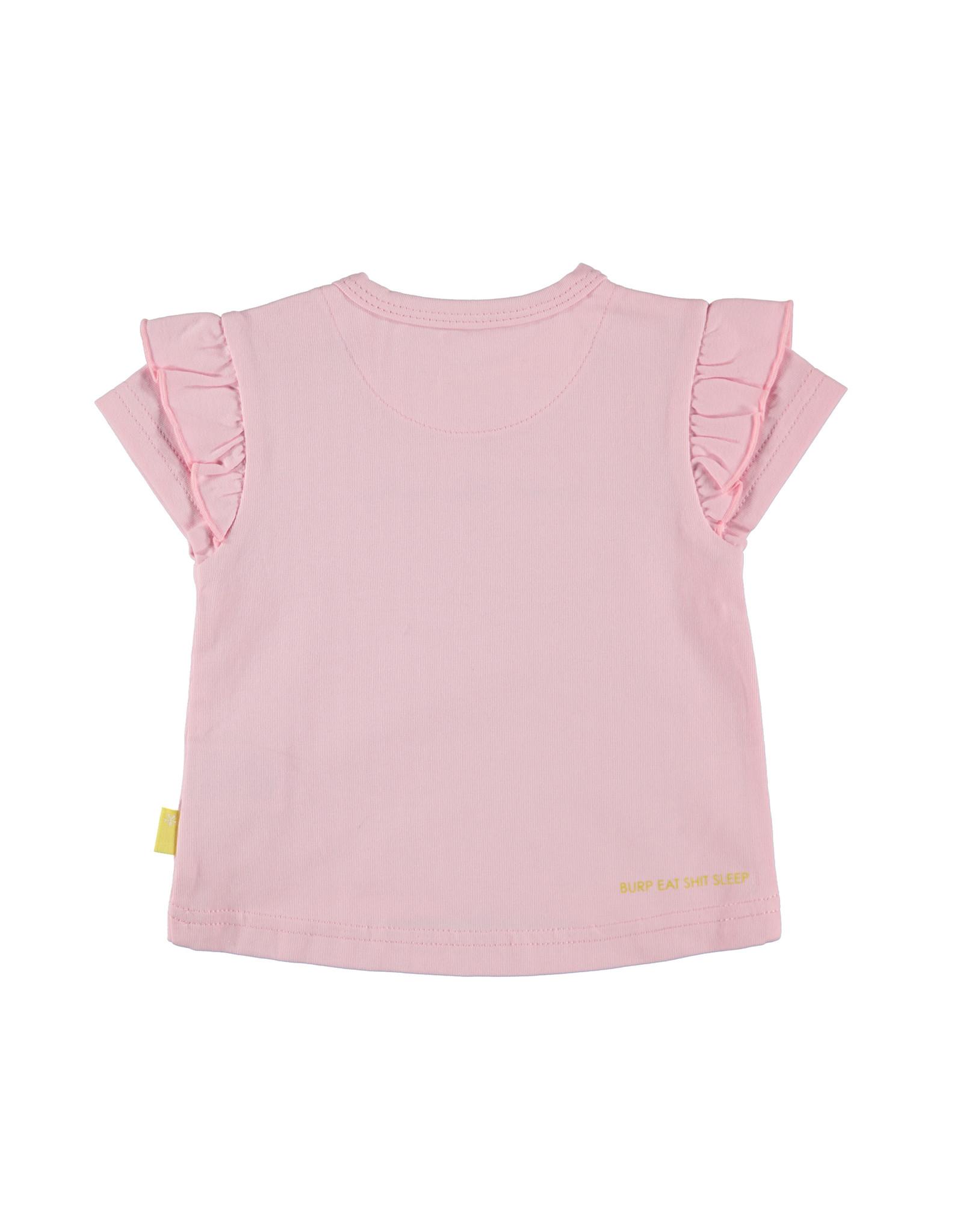 B.E.S.S. Shirt sh.sl. Sweet  Like Melon, Pink