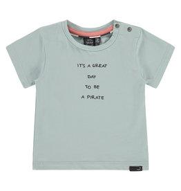 Babyface baby boys t-shirt short sleeve, grey mint, NWB21227651