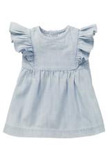 Noppies G Dress SS Magog, Light Blue Denim