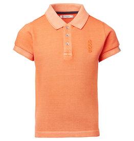 Noppies B Polo SS Logstone, Vermillion Orange
