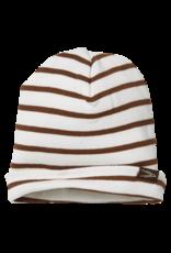 LEVV BRAD , AOP Brown Almond Stripe