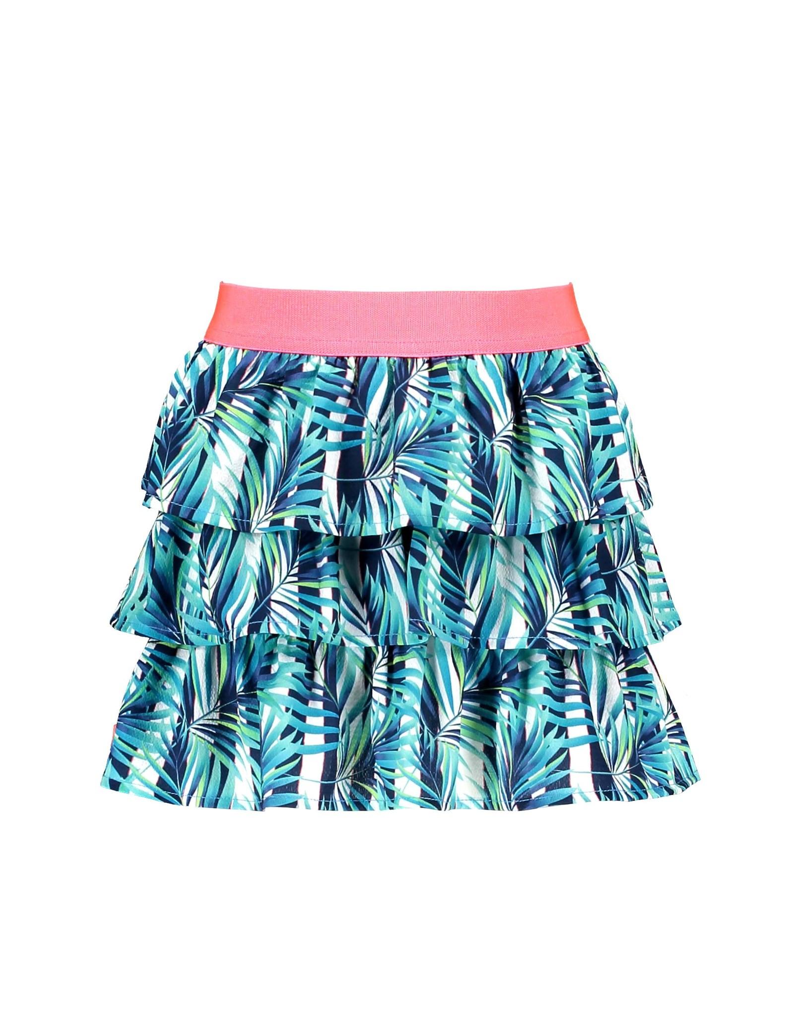 B-Nosy Girls tropical palm ao skirt