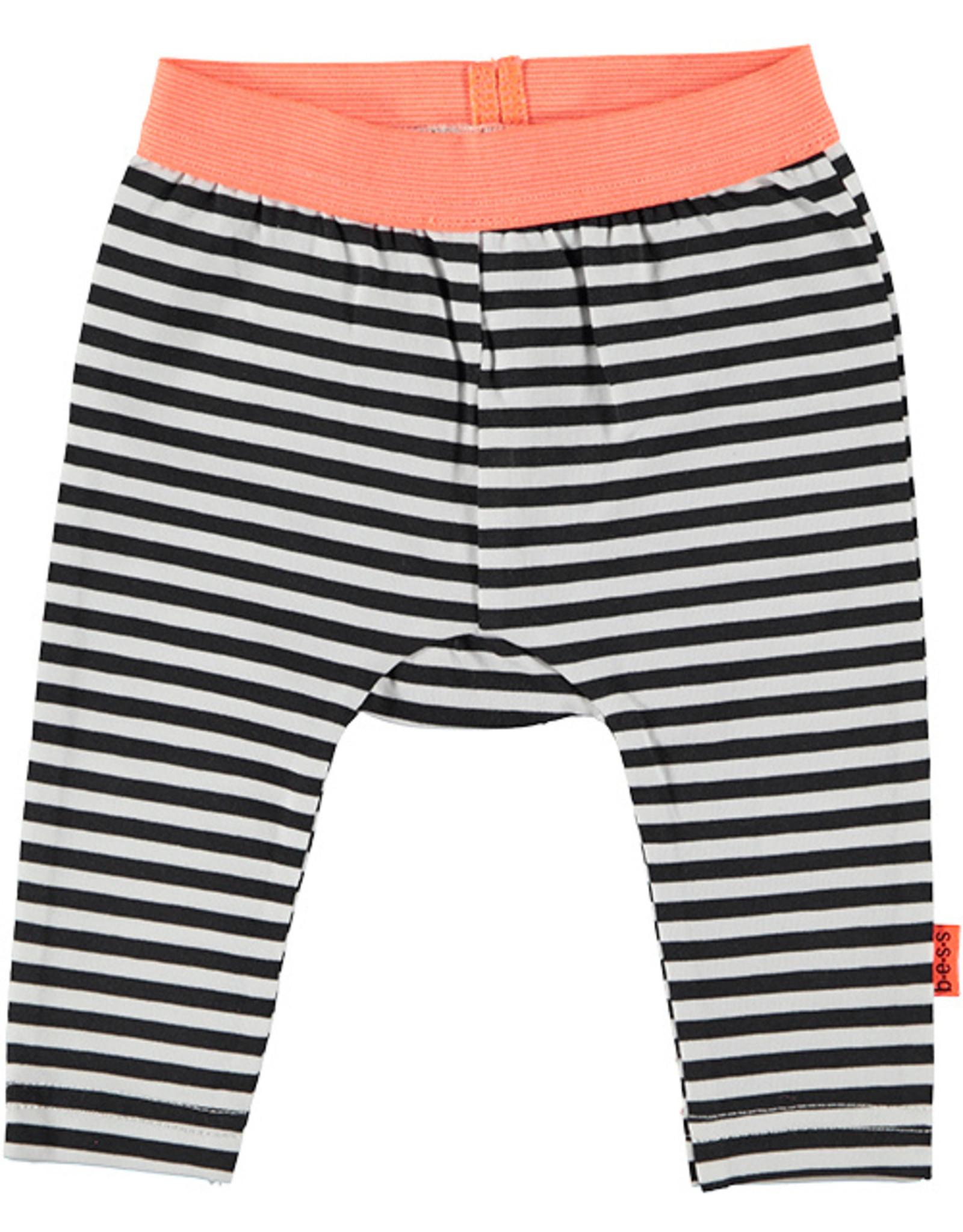 B.E.S.S. Legging Striped, Black
