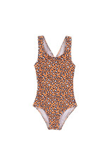 Koko Noko Swimsuit, Orange + aop, SS21