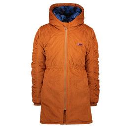 B-Nosy Girls corduroy long jacket, Camel