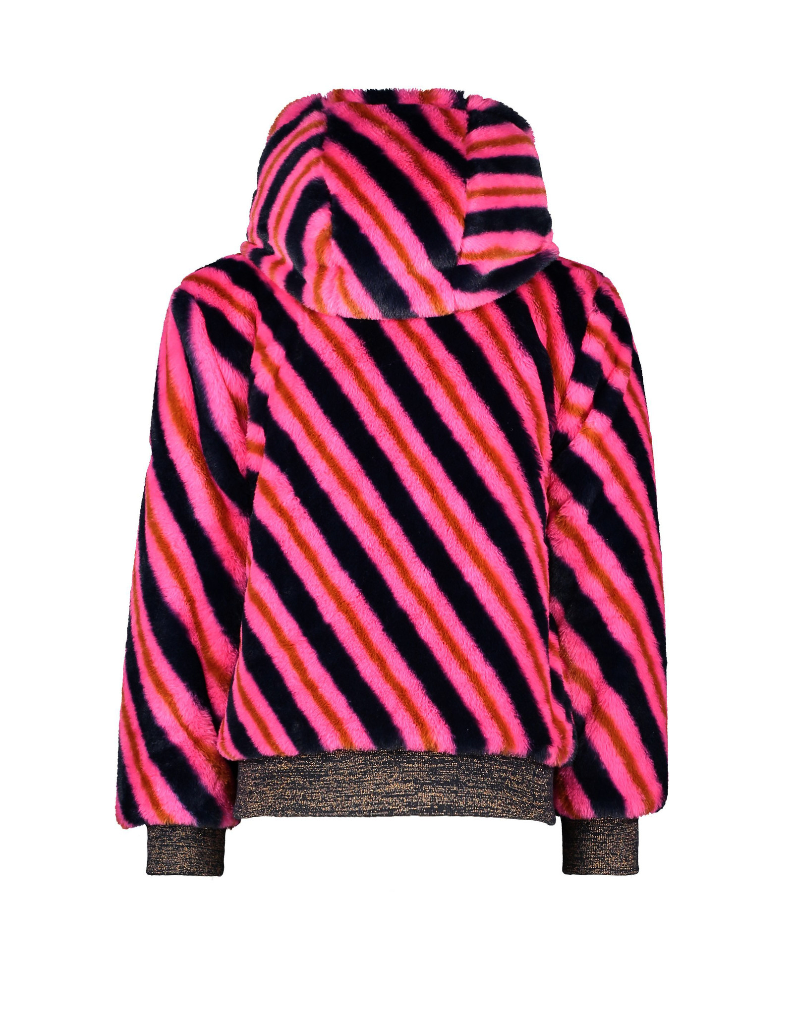 B-Nosy Girls short reversible jacket, space blue