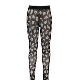B-Nosy Girls mesh legging, you leopard
