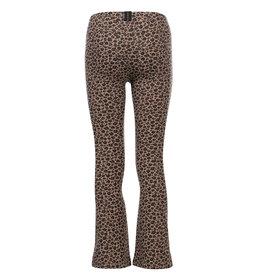 LOOXS 10sixteen 10Sixteen G.dyed twill jog flare pan, Leopard AO