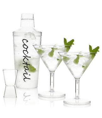 Cocktail mixer set- 4 delig