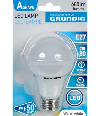 Grundig LED lamp, warm wit, 8W