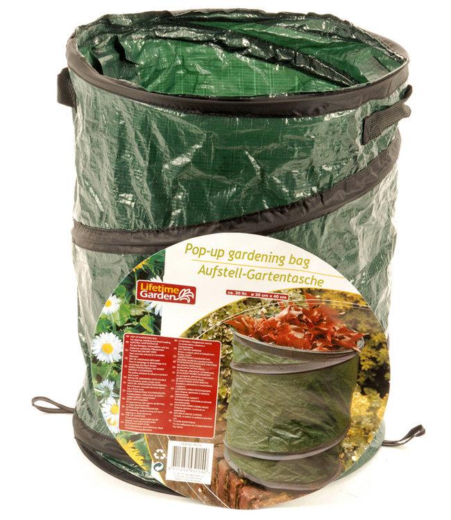 Lifetime Garden Opvouwbare Pop-Up tuinafvalzak, 30 liter I afvalzak voor tuin I Tuin zak I