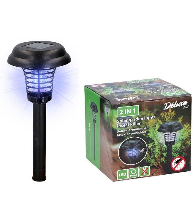 Déluxa Solar tuinlamp / insectenlamp I lamp tegen insecten I
