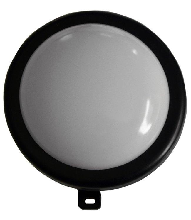 I-Watts Outdoor LED Buitenlamp rond - zwart - 6W