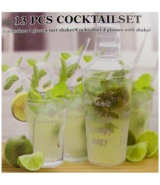 Cuisine Performance Cuisine Performance cocktailset- inclusief shaker